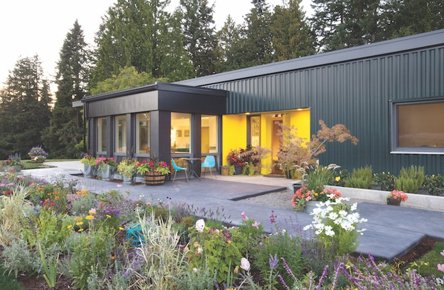 Exterior of Artisans Group Vogel Haus prefab