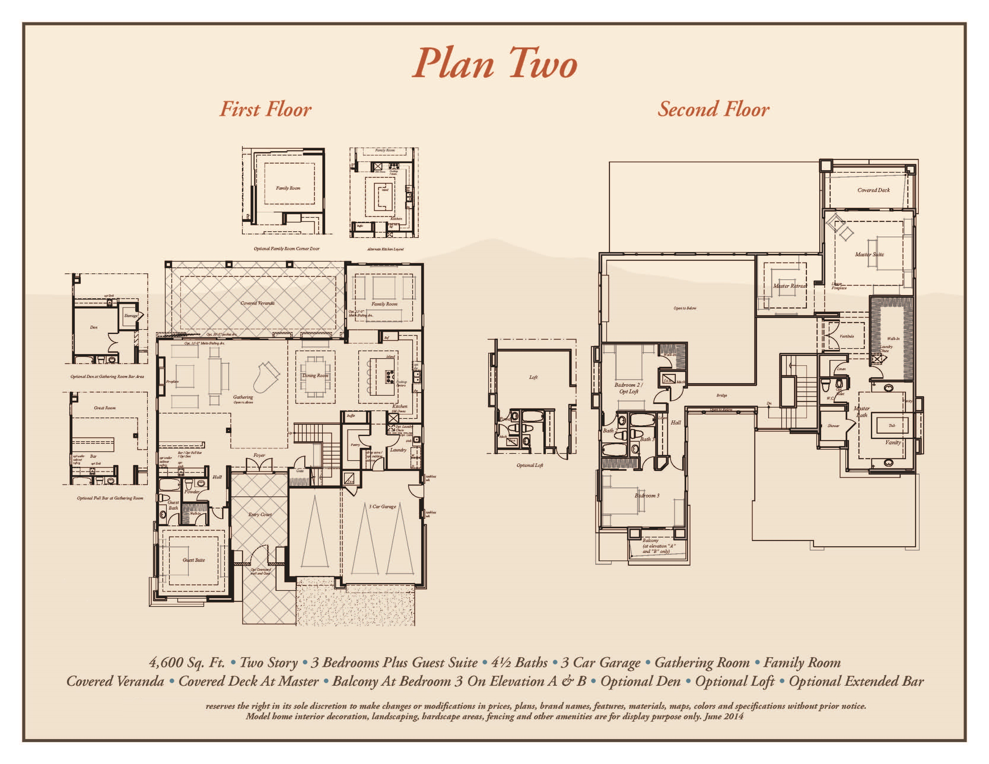Sterling Ridge Premier Collection Plan 2 Professional