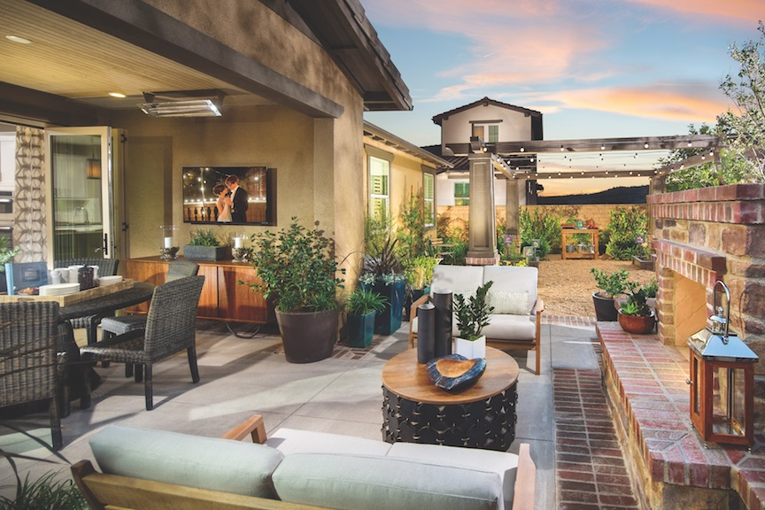 Seven trends from the best in american living awards for Shea custom home plans