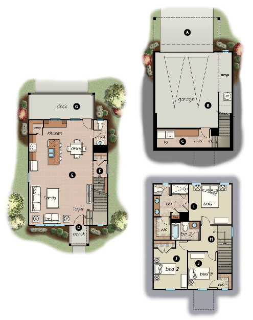 Adair floorplan