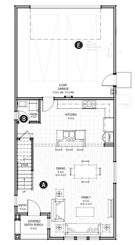 Contea at Stone Point floorplan