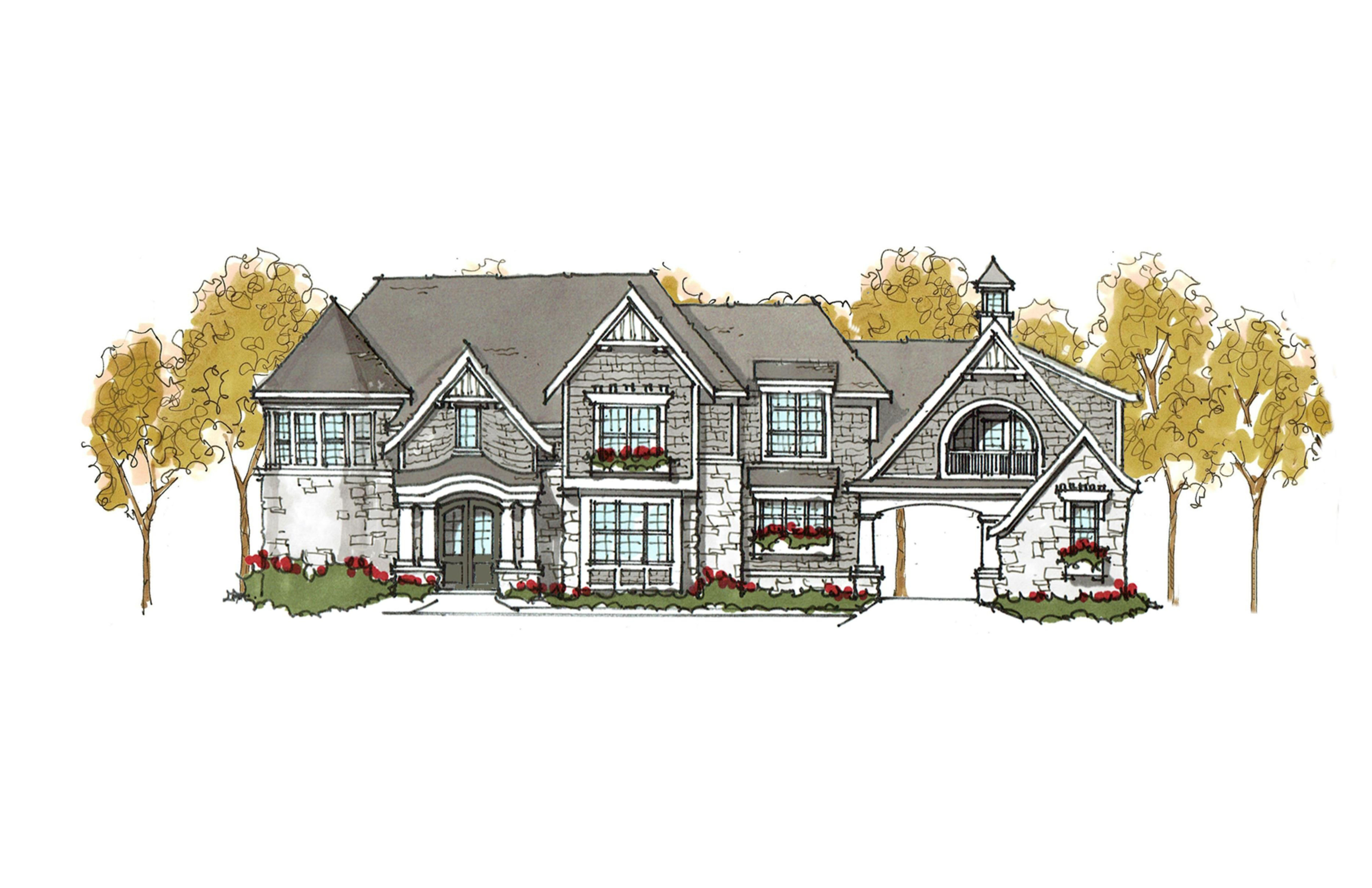 House plans with garage set back for House plan set