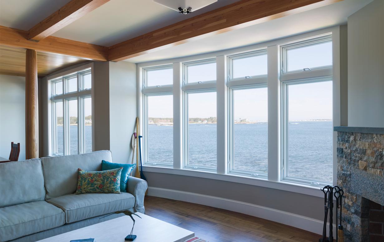 How windows impact home design professional builder for Anderson casement windows