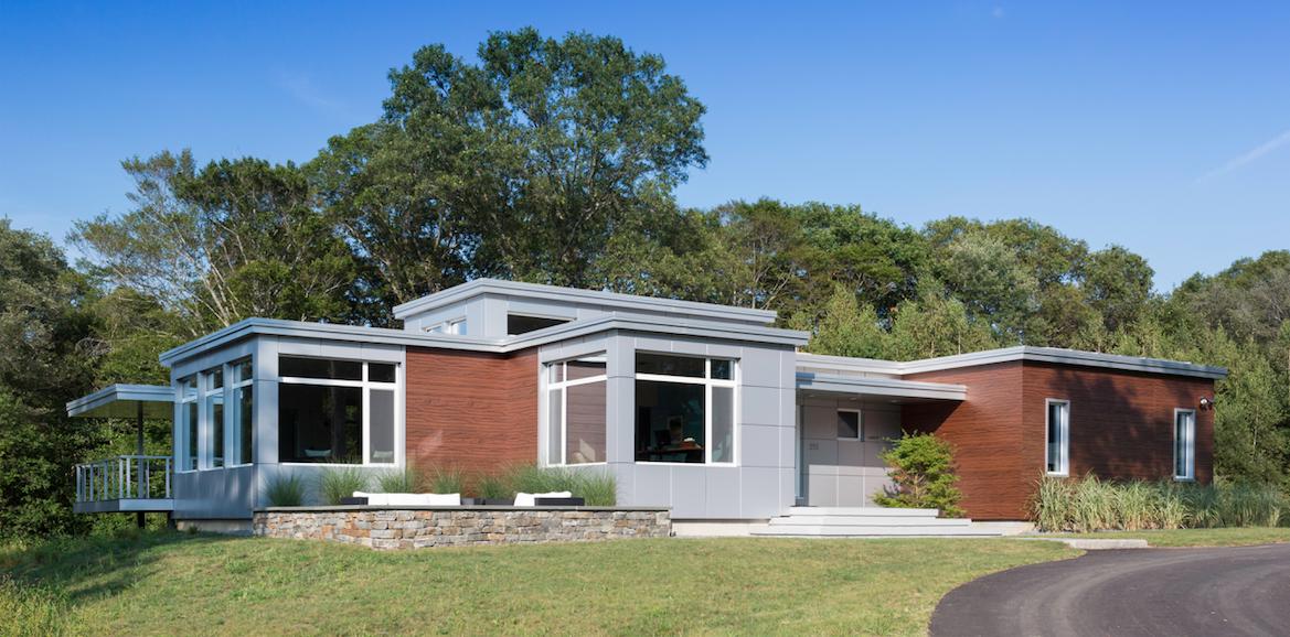 Steven Baczek architect, Bowen residence, exterior