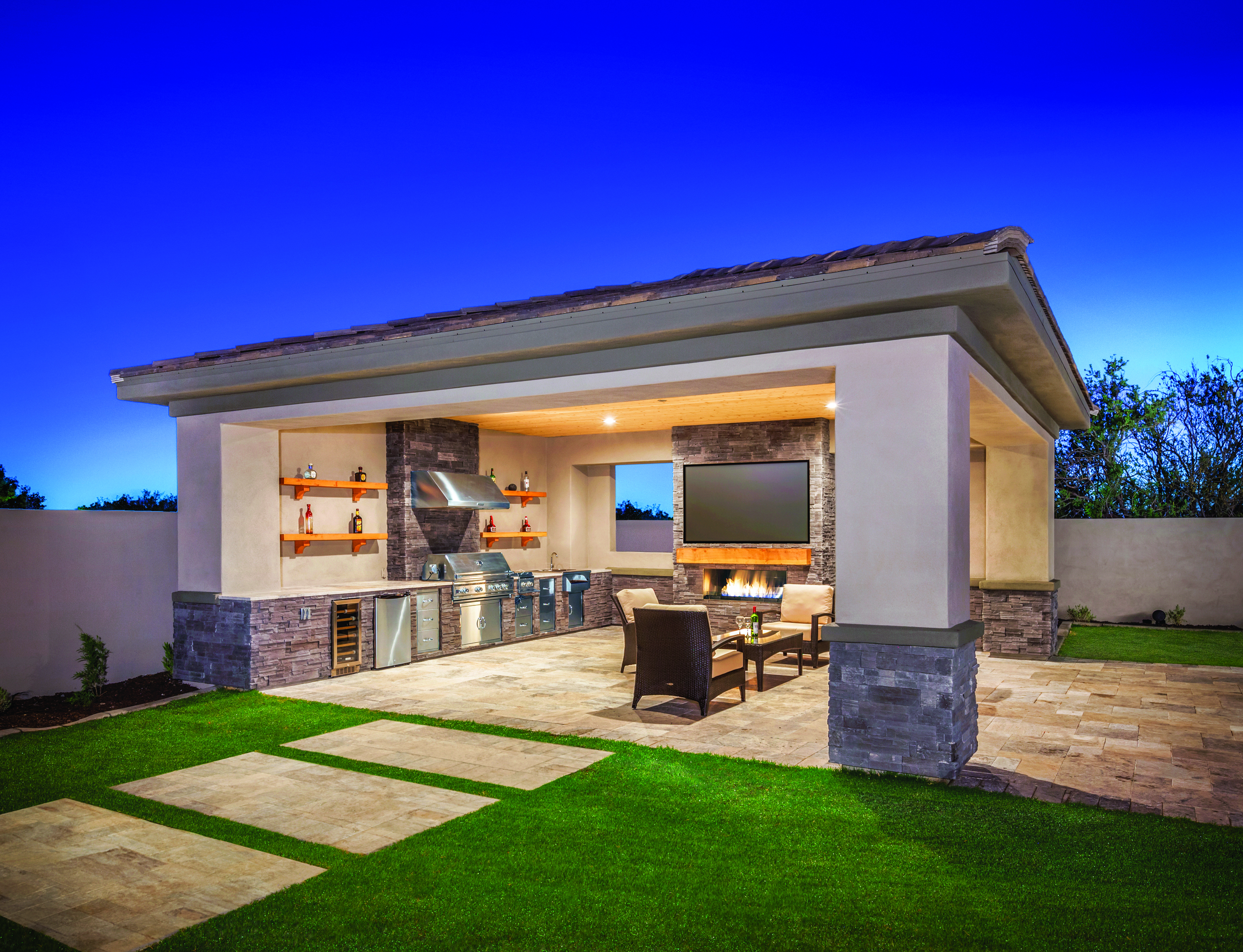 The Popularity Of Outdoor Kitchens Has Spread Far Beyond Warm Regions  (Photo: Toll Brothers). Design And Layout