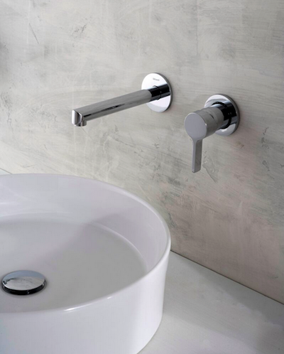 Graff Terra Collection wall-mounted faucet