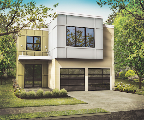 Designing For Narrow Lots Professional Builder - Narrow lot homes