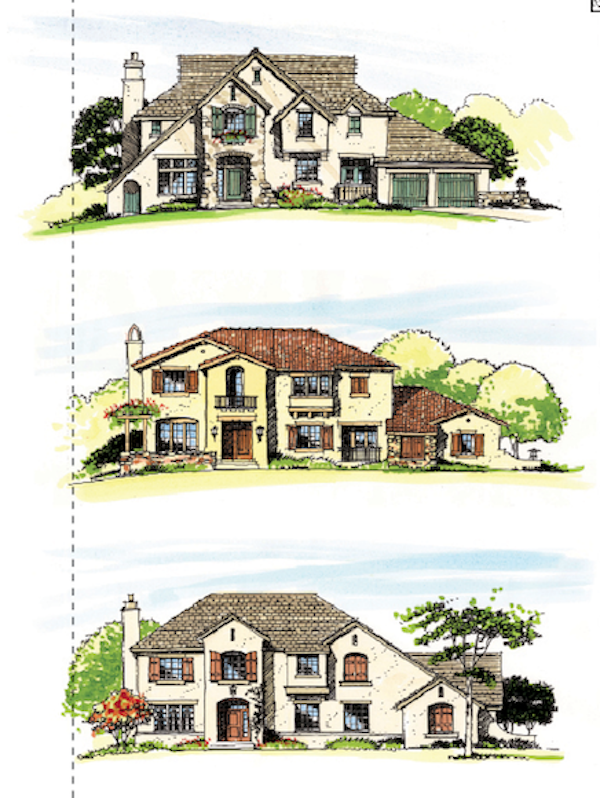 One Plan Multiple Exteriors Professional Builder