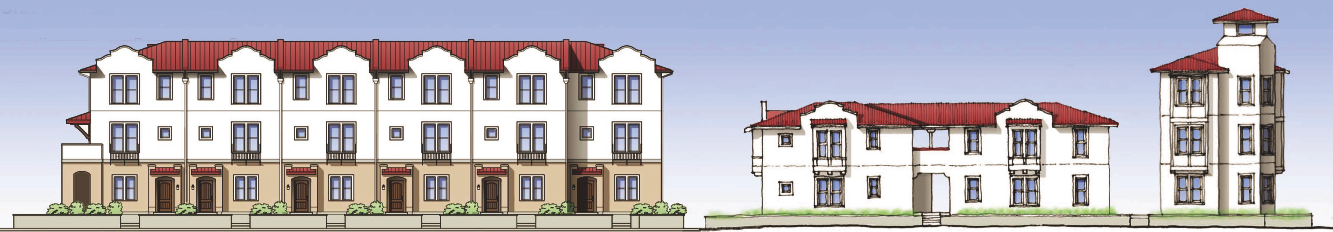 Hutchinson Green Apartments building elevations