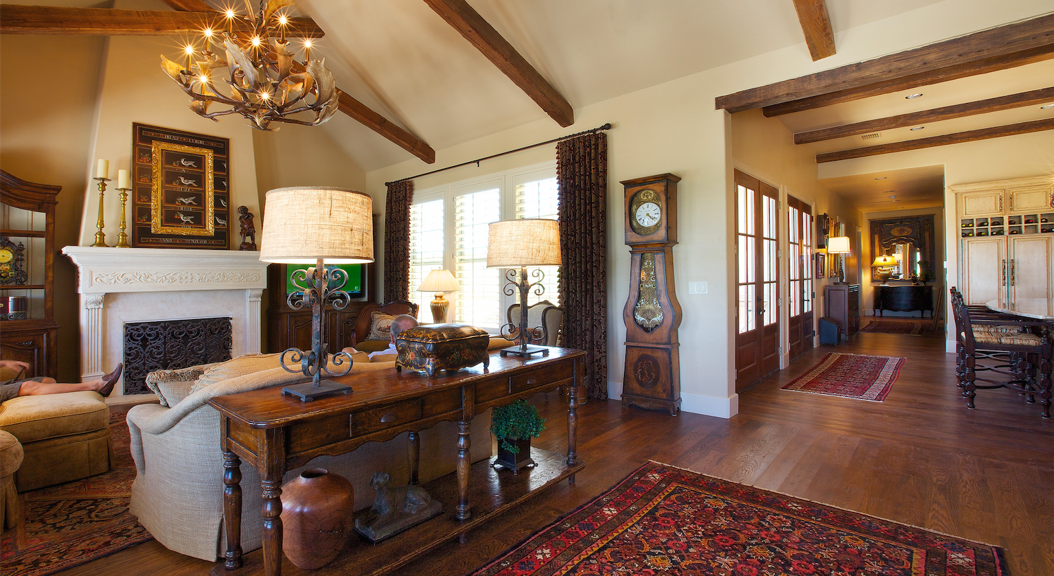 Town Creek, Braunfels, Texas, home interior