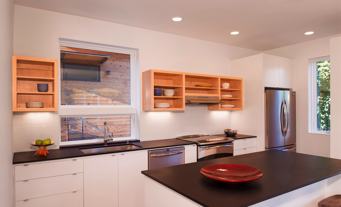 Grow, Bainbridge Island, Wash, interior, kitchen