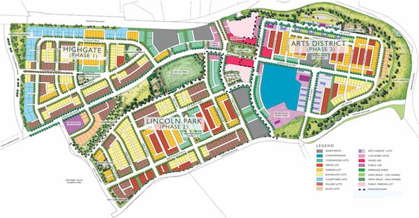East Garrison, Monterey, Calif., site plan