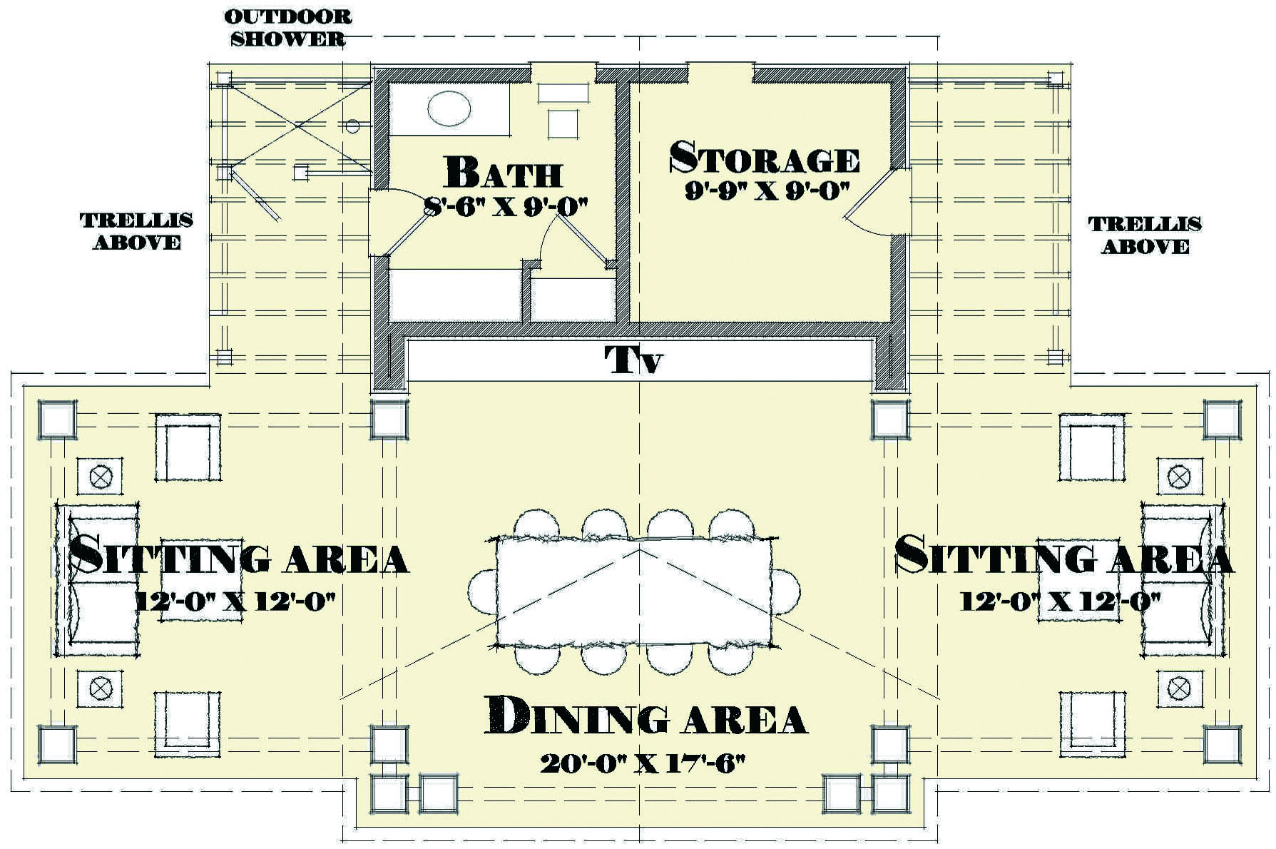 House Review Pool Houses Cabanas – Pool House Floor Plans With Bathroom