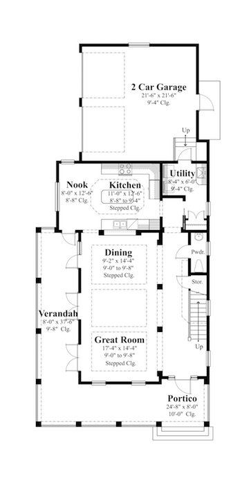 Design Solutions for Narrow and Wide Lots | Professional Builder on beautiful house plan designs, angled house plan designs, simple house plan designs, narrow lot beach house plans, mountain house plan designs, narrow house interior design, narrow cottage house plans, island house plan designs, little house plan designs, narrow house building plans, modern house plan designs,