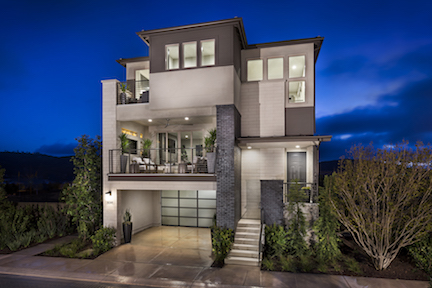 Exterior of Residence 3 at Sur 33 in San Diego