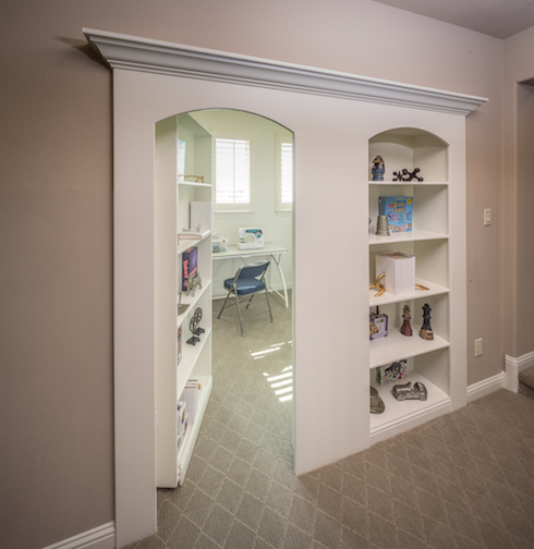 Hidden room offered by Trendmaker Homes