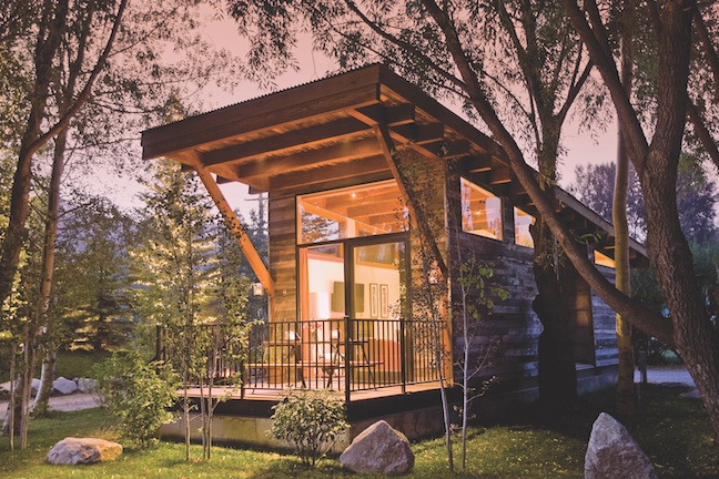 Wheelhaus Wedge tiny modular home exterior