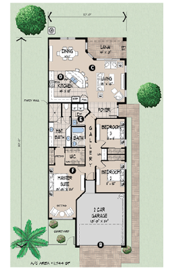 House Review_Evans_Duplex Clubhome plan