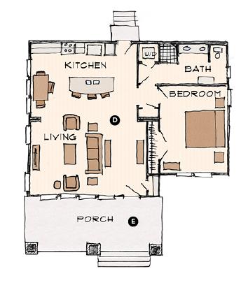 House Review_Larry Garnett_Smithville Cottages_plan