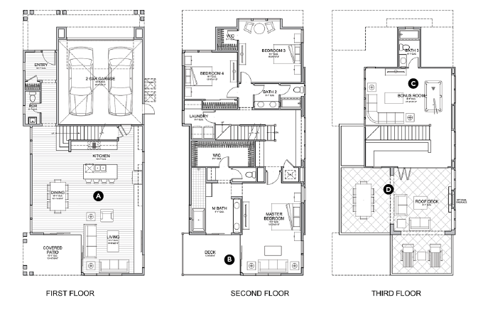 House Review_The Pearl_Dahlin Group_plans