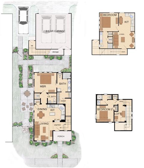 Garnett starter homes house plans