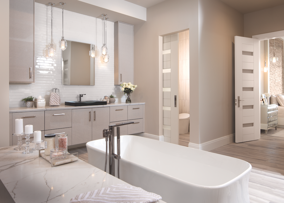 Master bath, The New American Home 2018