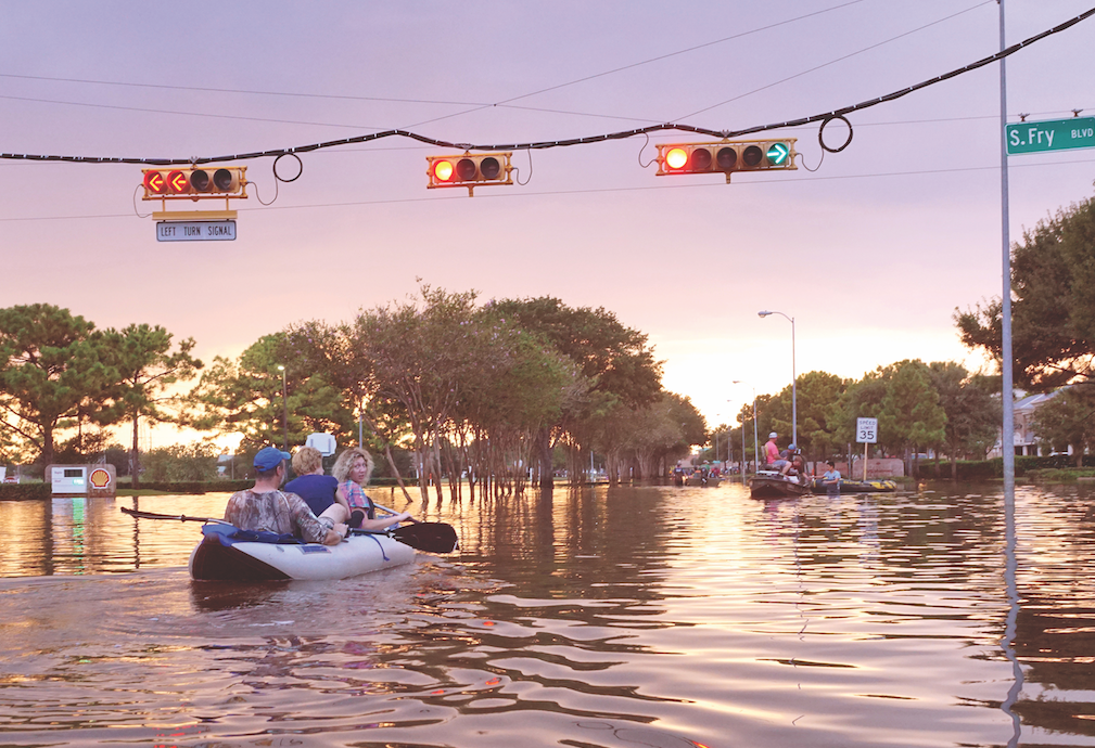 Disaster rebuilding: Houston floods
