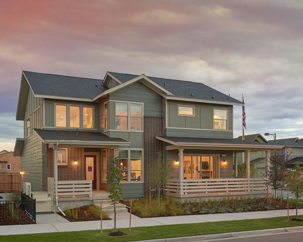 A model from Thrive Home Builders ZEN (Zero Energy Now) Collection