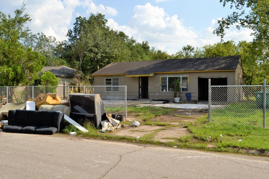Disaster rebuilding: flood damage