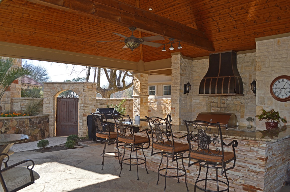 House Review | Outdoor Living Spaces | Professional Builder on Small Backyard Living Spaces id=49402