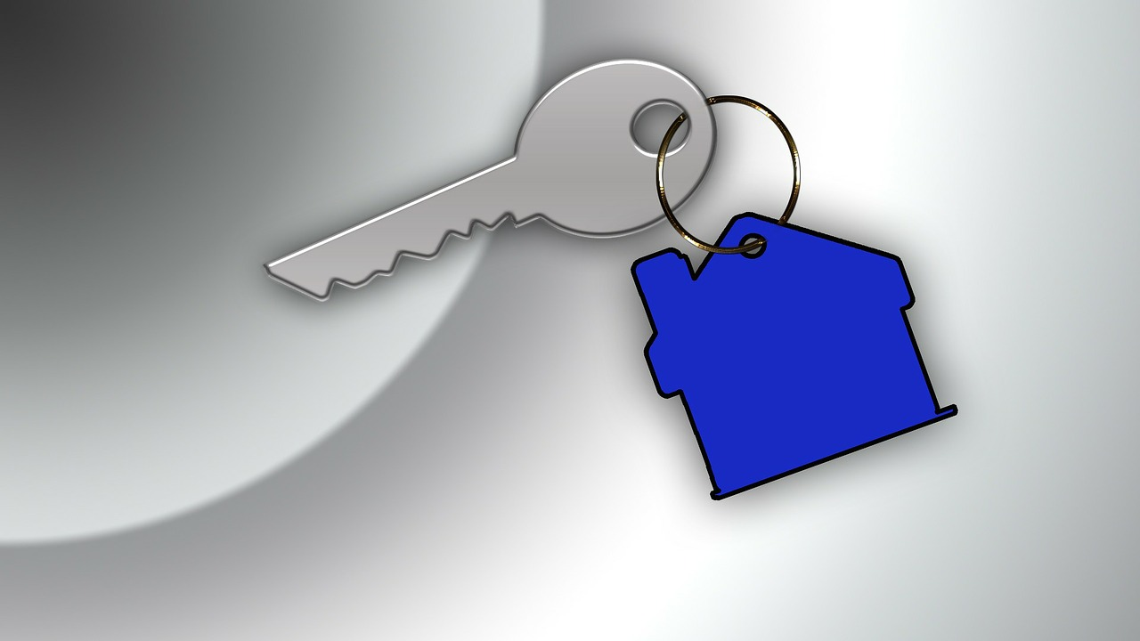 Outsourcing sales, image of house key