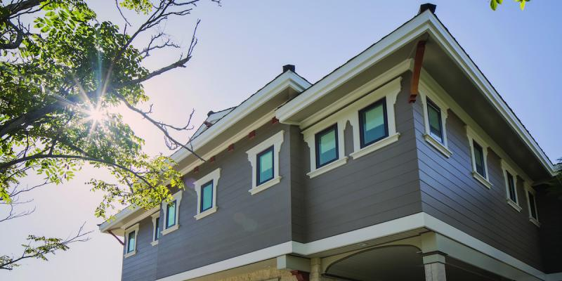 Artisan V-Rustic siding from James Hardie