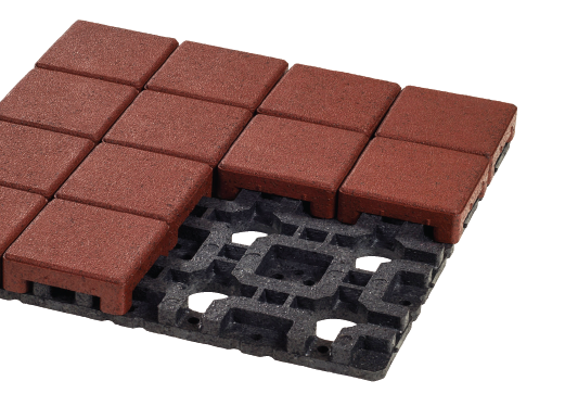 Azek Resurface Pavers are ideal for for resurfacing patios, balconies, decks, or fl at roof projects.