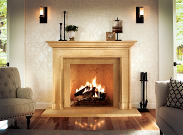 Eldorado Stone fireplace surrounds