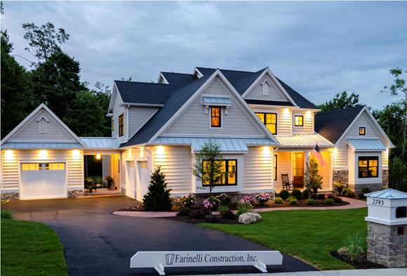 Franelli, show house, homebuilding, model house