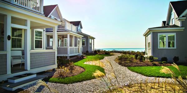 Modular design quick turnaround on cape cottages for Modular beach cottages