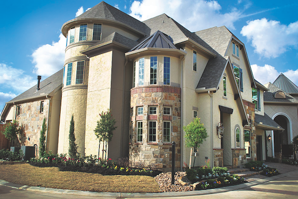 Exterior view of M Street Homes' first Zero Energy Ready Home (ZERH).