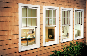 An example of the traditional-looking Marvin Next Generation Ultimate Double Hung window.