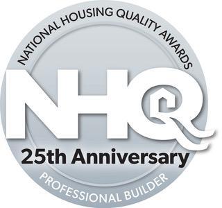 NHQ Silver Anniversary logo