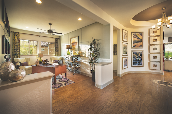 Interior Of One Of The Homes In The Victory At Verrado Development In  Buckeye, Ariz