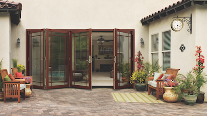 Jeld Wenu0027s New W 4500 Wood Folding Patio Door Is A Wall System That Allows  Homeowners To Make The Most Of The Space They Have.