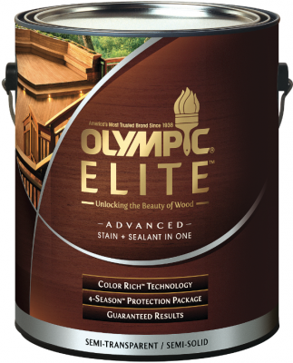 Olympic Elite Advanced Stain + Sealant | Professional Builder