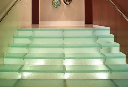 ThinkGlass glass stairs