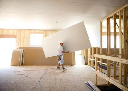 USG, drywall, lightweight drywall, walls and ceilings, interior construction