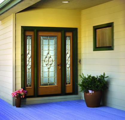 Jeld wen architectural fiberglass door professional builder for Jeld wen architectural fiberglass door