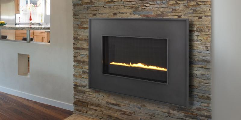Heat & Glo REVO Direct Vent gas fireplace
