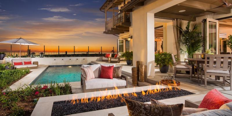 outdoor living room design. While merging indoor and outdoor living areas is often credited as a  modernist design move it s actually an idea that has been around for centuries House Review Outdoor Living Spaces Professional Builder