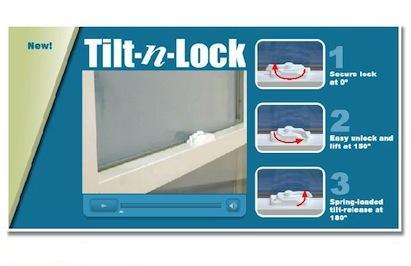Viwinco, Tilt-n-Lock system, windows, 101 best new products