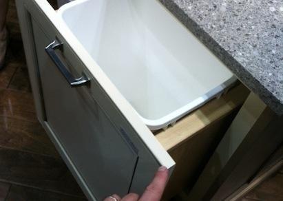 Wellborn Cabinet Access Base Wastebasket