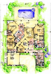 House review casitas and in law suites pro builder for Tuscan home plans with casitas